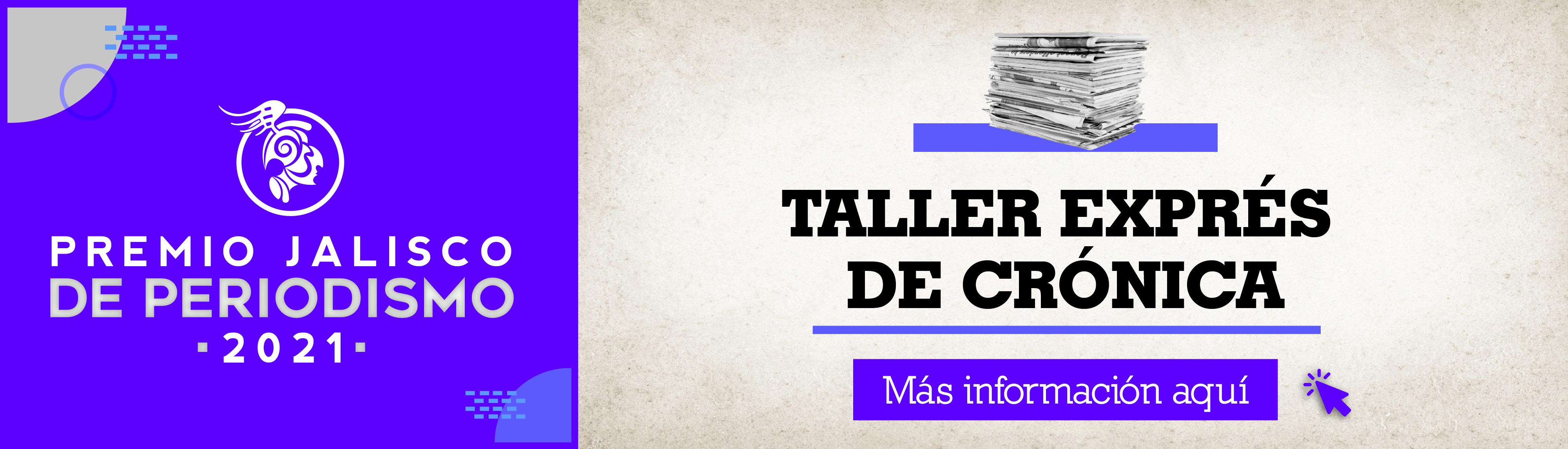 Taller Exprés de Crónica para periodistas de Jalisco